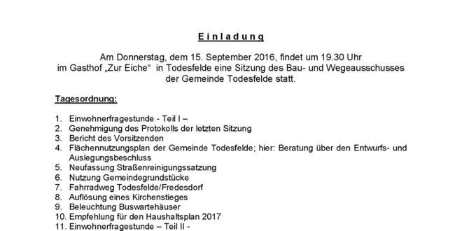 Bau-und WegeA 15.09.2016